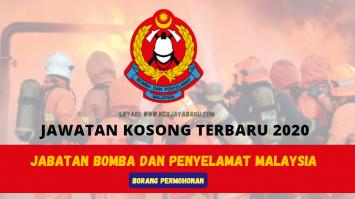 jawatan kosong Jabatan Bomba dan Penyelamat
